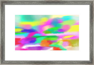 All Colors Framed Print by Rosana Ortiz
