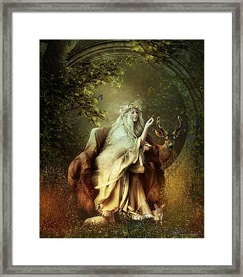 All Creatures Great And Small Framed Print