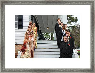 All Dressed Up Framed Print by Carolyn Ricks