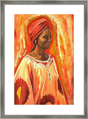 All Dressed Up Framed Print by Sheila Diemert