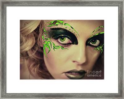 All Eyes Framed Print