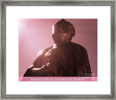 Framed Print featuring the photograph All For One Cause  by Kristine Nora