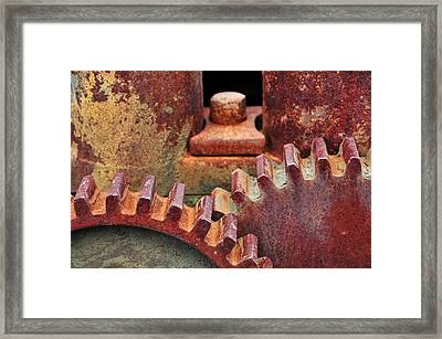 All Geared Up Framed Print by Mike Martin