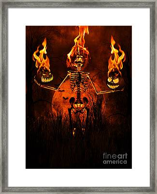 All Hallow's Eve Framed Print by Putterhug  Studio