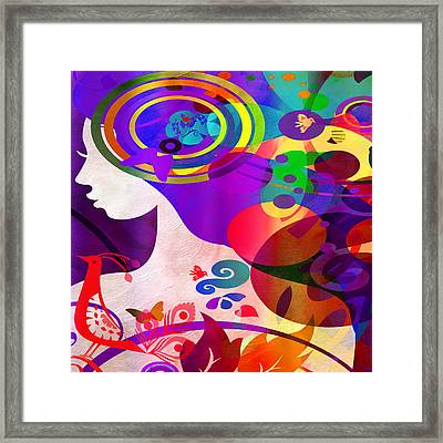 All Her Wonder 2 Framed Print