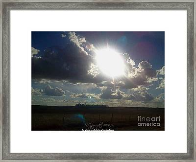 All In A Days Work Framed Print by PainterArtist FIN
