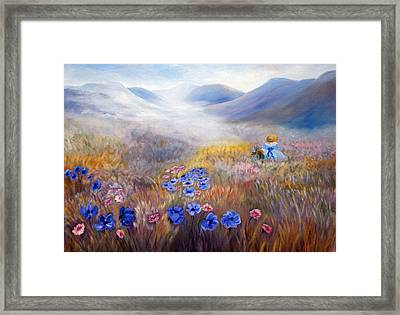 All In A Dream - Impressionism Framed Print