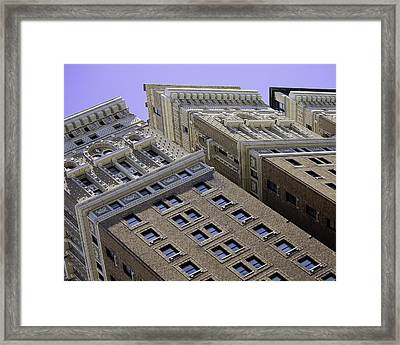 All In A Row Framed Print by Rose  Fleming