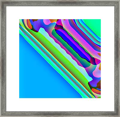 All In Blue Framed Print by Charles Ragsdale