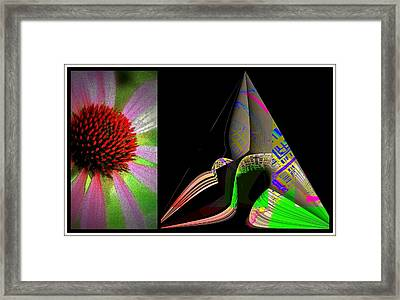 All In Ones Perception Framed Print by Irma BACKELANT GALLERIES
