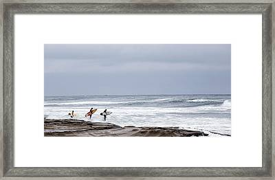 All In Framed Print by Peter Tellone