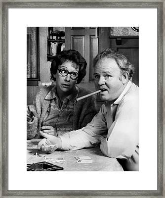 All In The Family Framed Print by Mountain Dreams