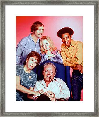 All In The Family  Framed Print by Silver Screen