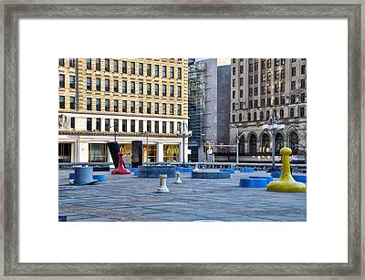 All In The Game Framed Print by Bill Cannon