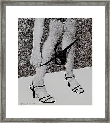 All In Framed Print