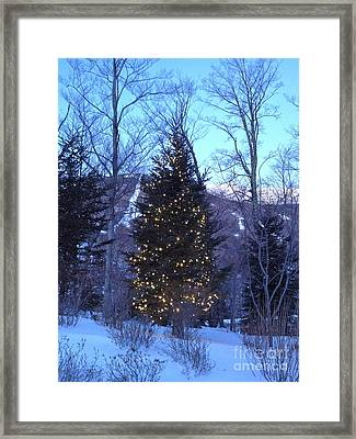 All Is Bright Framed Print