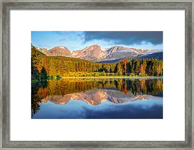 All Is Calm - Rocky Mountain National Park Framed Print