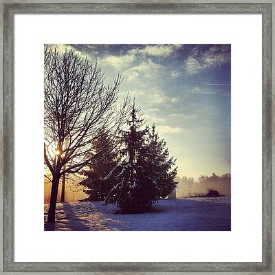 All Is Calm Framed Print by Toni Martsoukos