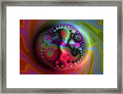 All Is Maya Framed Print