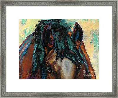 All Knowing Framed Print