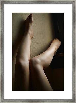 All Legs Framed Print