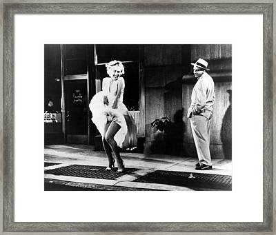 Marilyn Monroe  Framed Print by Retro Images Archive