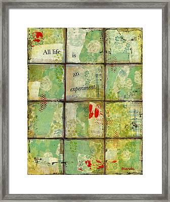 All Life...abstract Art Framed Print by Blenda Studio