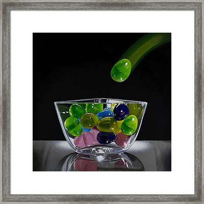 All My Eggs In One Basket Framed Print by Tony Chimento