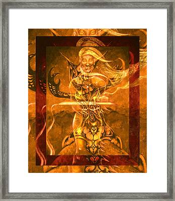 All My Relations II Framed Print