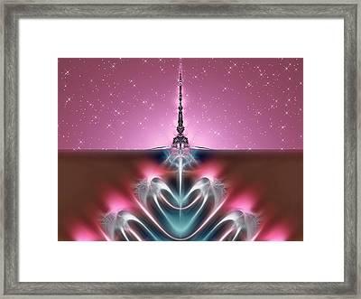 All My Stars Framed Print by Wendy J St Christopher