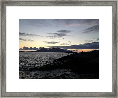 All Night Long Framed Print by Max Josefsson