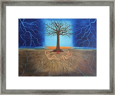 All Of Creation Framed Print by Diana Perfect