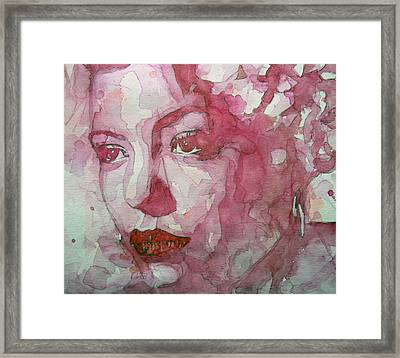 All Of Me Framed Print by Paul Lovering