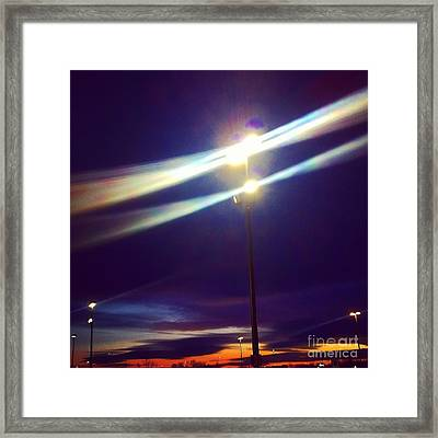 All Of The Lights Framed Print by Jamie Shaw