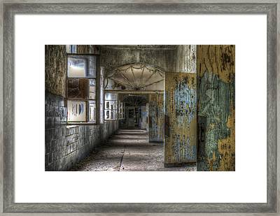 All Opened Framed Print by Nathan Wright