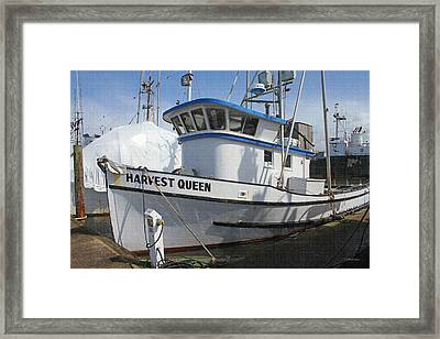 All Painted And Ready To Fish Framed Print