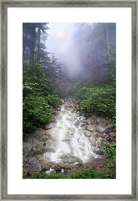 All Paths Become One Framed Print by David M ( Maclean )