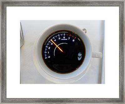All Revved Up Framed Print by Richard Reeve