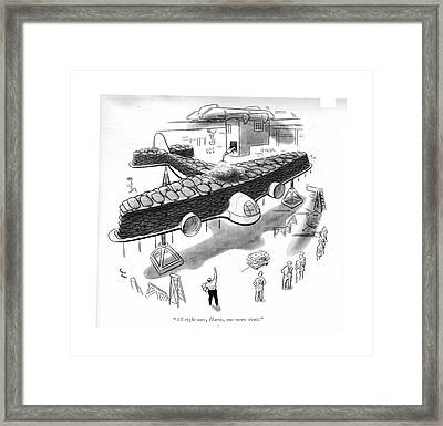 All Right Now Framed Print by Richard Decker