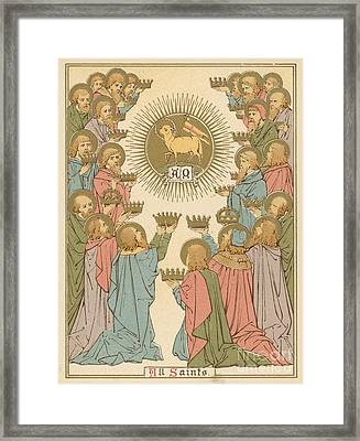 All Saints Framed Print