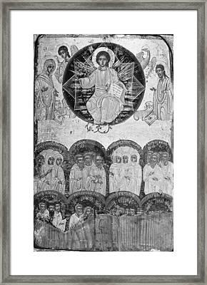 All Saints Framed Print
