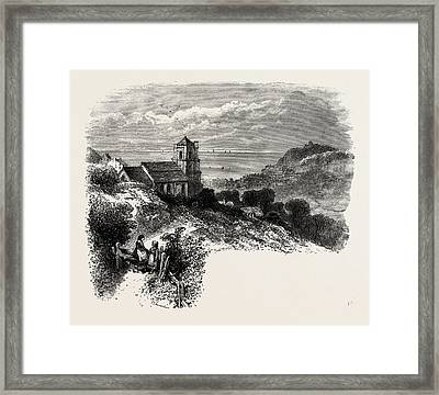 All Saints, Hastings, From Eastcliff, East Sussex, Uk Framed Print