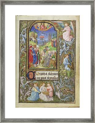 All Saints Lieven Van Lathem, Flemish, About 1430 - 1493 Framed Print by Litz Collection