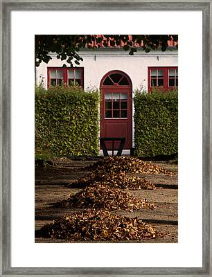 All Seasons Lead To Your Door Framed Print by Odd Jeppesen