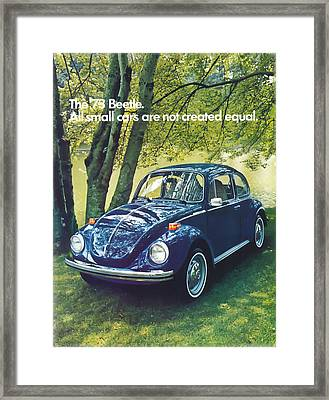 All Small Cars Are Not Created Equal Framed Print by Georgia Fowler