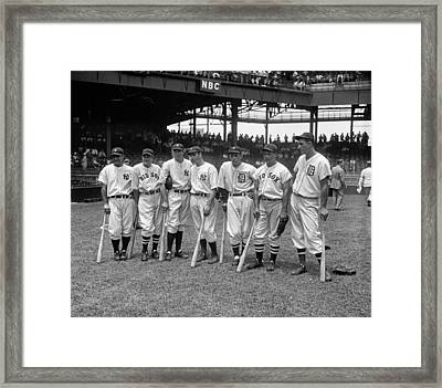 All-star Game, 1937 Framed Print by Granger