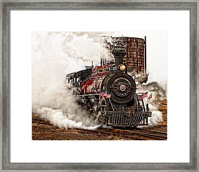 All Steamed Up Framed Print by Mary Jo Allen