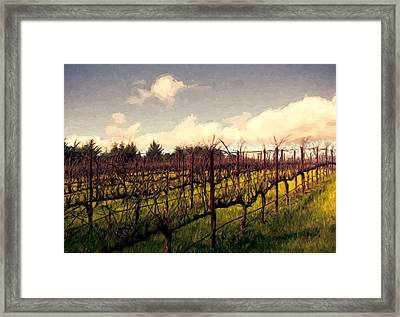 All Strung Out Framed Print