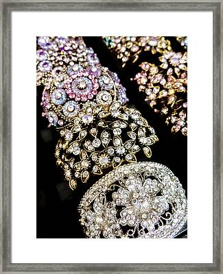 All That Glitters Framed Print by Caitlyn  Grasso