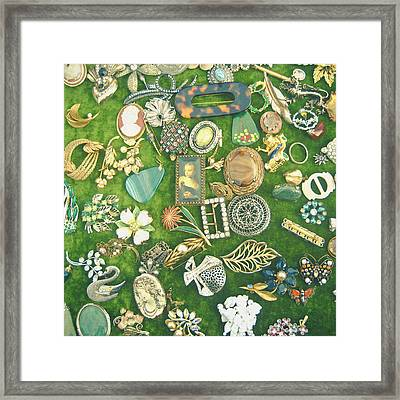 All That Glitters Framed Print by Cassia Beck